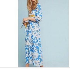 Anthropologie kimono maxi!